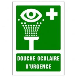 Panneau signalétique (A4) Lave yeux d'urgence