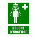 Panneau signalétique (A4) Douche d'urgence