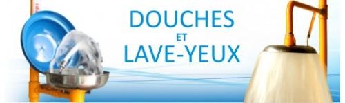 Douches avec Lave-Yeux