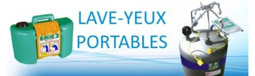 Lave-Yeux Portables et Autonomes